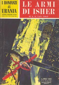12  LE ARMI DI ISHER 20/3/1953  THE WEAPON SHOP OF ISHER  Copertina di  C. Caesar   A. E. VAN VOGT