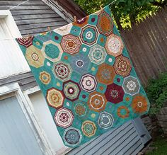 Ravelry:  Moorish Mosaic Afghan pattern by Lisa Naskrent (also published in Interweave Crochet Fall 2009)