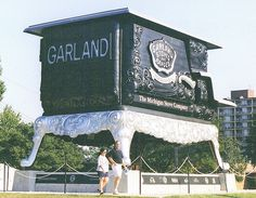 The Big Stove, at the old Michigan State Fair grounds--Detroit MI