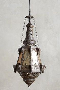 Anthropologie Bashira Lantern, Teardrop