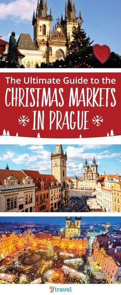 Christmas Markets in Prague, Czech Republic. It's getting close to Christmas markets in Europe. Check out this ultimate guide to the Christmas markets in Prague Czech Republic as you plan your holiday trip and holiday shopping in Europe! #ChristmasMarkets #Europe #Prague