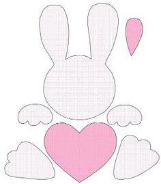 DIY Ostern Aktivitäten amp Dekoration The best age-old Easter time presents, as Easter Projects, Easter Crafts For Kids, Easter Gift, Easter Bunny, Felt Bunny, Easter Ideas, Bunny Crafts, Felt Crafts, Paper Crafts