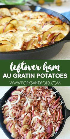 Scalloped potatoes a