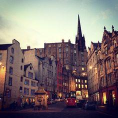 Edinburgh, Scotland / photo by Simon Inman