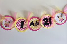 Despicable Me Banner, Girl Minions, Girly Despicable Me Decor