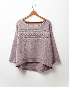 Wool People 7 - Natsumi Pullover