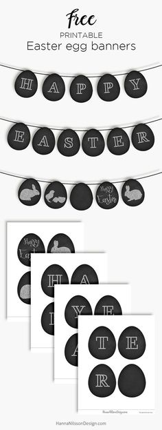 Easter Egg Banner - Diy and Crafts Mix Free Printable Banner, Free Printables, Party Printables, Jelly Beans, Spring Decoration, Easter Breaks, Easter Banner, Diy Banner, Free Banner