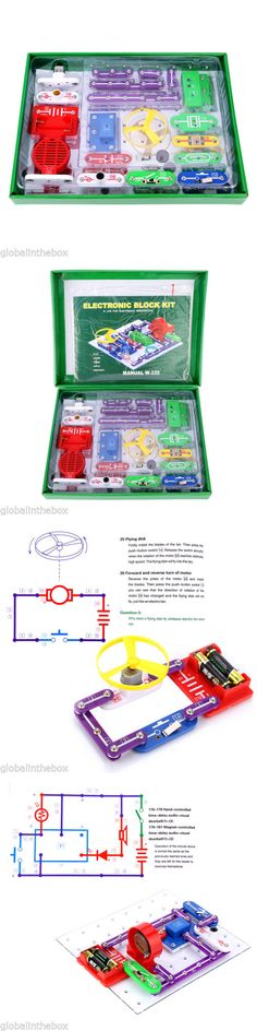Electronics and Electricity 158698: Snap Circuits Children Toy Electronics Discovery Kit Science Educational Gift -> BUY IT NOW ONLY: $32.99 on eBay!