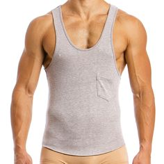 Made from superior quality, viscose blend, knitted fabric this Mohair look tanktop has a slim fit cut, classic style, and is easy to wear. Mens Tights, The Chic, Lounge Wear, Perfect Fit, Classic Style, Athletic Tank Tops, Tank Man, Street Wear, Mens Tops