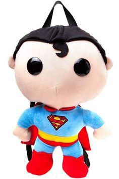 Funko Pop! Superman Backpack. Available from Nerd Vault store and online - www.nerd-vault.com.