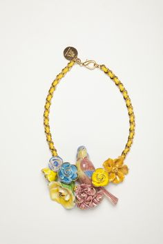 current obsession: andres gallardo's giant necklace