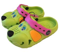 Fresko Kids Puppy Dog Slip On Water Shoe Clogs *** See this great image @ http://www.amazon.com/gp/product/B01BWXBFN4/?tag=lizloveshoes-20&ij=190816212121