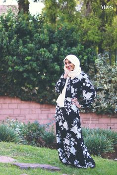 Gadija Khan Design Floral Bishop Maxi Dress   My Online Souk   www.myonlinesouk.co.za Design Floral, Modest Dresses, Eid, Clothes, Collection, Fashion, Tall Clothing, Moda, Fashion Styles