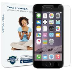 iPhone 6 Plus (5.5 inch ONLY) HD Clear Ballistic Glass Screen Protector #TechArmor