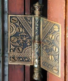 Design Motifs of the Aesthetic Movement - Old-House Online Door Knobs And Knockers, Door Hinges, Art Nouveau, Aesthetic Movement, Aesthetic Design, Architecture Details, Victorian Architecture, Movement Architecture, Ancient Architecture