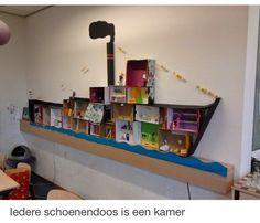 JOTTE: boot van Sinterklaas