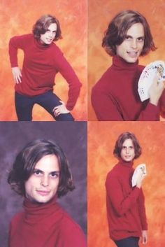 Oh, and here are some photos of him in high school looking absolutely adorable. | Why Matthew Gray Gubler Is The Nerd Of Your Dreams