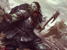 Charnak the Blood Thirsty by Dane Madgwick