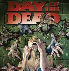 Day of the dead Zombie Movies, Horror Movies, Day Of The Dead Artwork, Fan Poster, Zombies, Horror Films, Scary Movies
