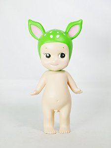 DREAMS Minifigure Sonny Angel Animal Series 2 Special Color Edition Collectible Figure Fawn Young Deer Green