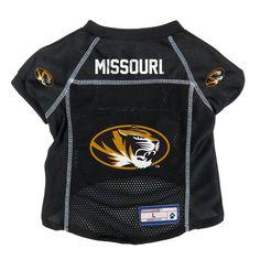 Missouri Tigers Little Earth Pet Football Jersey - L 6f703a726