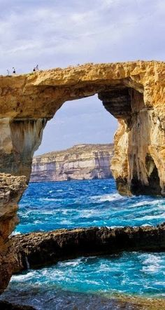 Azure Window - Gozo Island, Malta, the Mediterranean, Europe