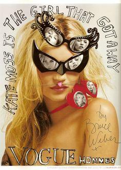 "Bruce Weber ""Kate Moss Is the Girl That Got Away"""