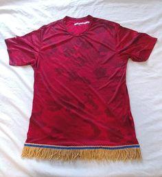 Hebrew Israelite Shirt w/ Premium Gold Fringes (Red) Genesis One, Hebrew Israelite Clothing, Learn Hebrew Online, Tribe Of Judah, Black Love Art, African Men Fashion, Word Study, Blue Ribbon, Modest Outfits