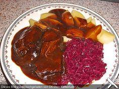Koelkasts Sauerbraten, ein raffiniertes Rezept aus der Kategorie Schwein. Bewertungen: 4. Durchschnitt: Ø 4,0.