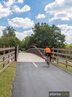 The Silver Comet Trail is one of Atlanta's favorite running and cycling trails