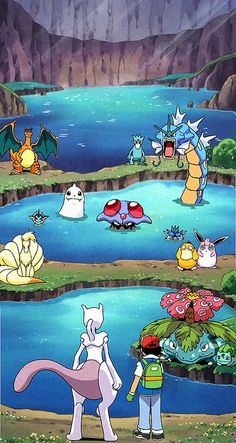 Welcome to pokemon heaven nigga Pokemon Backgrounds, Cool Pokemon Wallpapers, Cute Pokemon Wallpaper, Animes Wallpapers, Cute Wallpapers, Pokemon Rouge, Ash Pokemon, Pokemon Fan Art, Pikachu Drawing