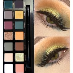 Subculture palette looks; electric