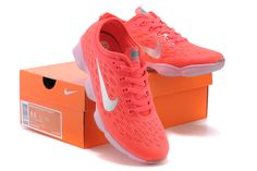 Womens NIKE ZOOM Fit Agility Orange Shoes