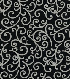 Home Decor 8x8'' Print Fabric Swatch-Covington Dazzle 909 Onyx at Joann.com