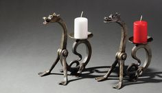 The products are the result of collaboration between artists and blacksmiths. UKO Kropa, Slovenia