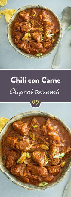 Chili con Carne ist wohl allen ein Begriff. Doch das wirklich klassische Chili con Carne nach texanischer Art ist etwas anders, als wir es kennen.