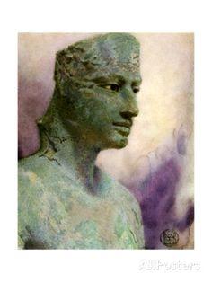 Head of a Bronze Statue of Pepi I Meryre