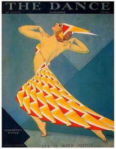H. Carter, The Dance, June  Dancer Albertina Vitak on the cover.