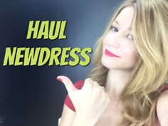 HAUL Y OUTFITS NEWDRESS