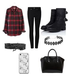 """""""Untitled #4"""" by gabbyerskine ❤ liked on Polyvore featuring Madewell and Givenchy"""