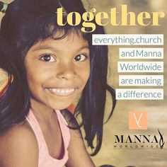 We have some exciting news!  Were partnering with Manna Worldwide to raise awareness of the human need in impoverished communities around the world. Manna Worldwide is doing work in thirty-seven countries with a focus on feeding children and nurturing their spiritual needs. This isnt your typical non-profit missions organization though.  Led by CEO Bruce ONeal Manna Worldwide has managed to consistently maintain an overhead of less than ten percent. That means at least ninety percent of any…