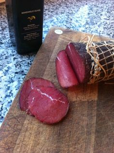 Bresaola, my first Bresaola and first pin: