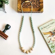 Functional, Nontoxic, mama-friendly necklaces handcrafted in Vancouver, BC, by @Mama.Gems. Created to be loved, their necklaces are great for mothers, dreamers and explorers too.  Shop: mamagems.ca  #MamaGems #Teething #Necklace #Vancouver #HandmadeLoves