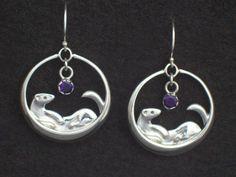 ferret earrings - Google Search