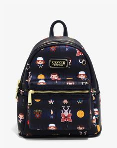 Loungefly Stranger Things Forest Mini Backpack - BoxLunch Exclusive - Loungefly Stranger Things Forest Mini Backpack – BoxLunch Exclusive Source by boxlunchgifts - Stranger Things Gifts, Stranger Things Merchandise, Stranger Things Steve, Stranger Things Aesthetic, Stranger Things Clothing, Cute Mini Backpacks, Girl Backpacks, College Backpacks, Ebay