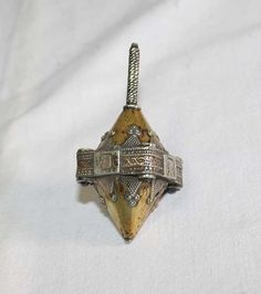 Antique Dreidel from Turkmenistan