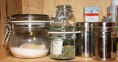 Gewürzbehälter Glas2