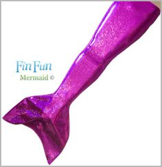 Fin Fun Mermaid Tail in Purple Tiger - Affordable and Swimmable- It's a swimsuit with a mermaid tail ; )