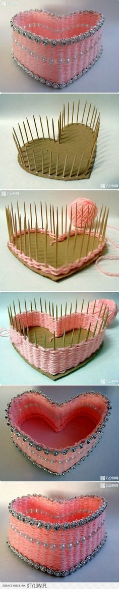 DIY Lovely Heart Box DIY Projects | UsefulDIY.com na Stylowi.pl
