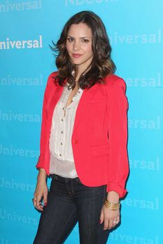 Katherine McPhee looks smashing at NBC Universal Summer Press Day